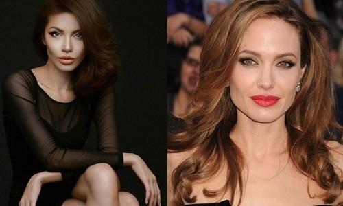 """Màn """"phù phép"""" siêu mẫu Việt Nam thành sao hollywood Angelina Jolie - anh 5"""