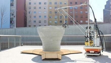 Robot 3D thay thế con người xây cao ốc cực khủng - anh 1