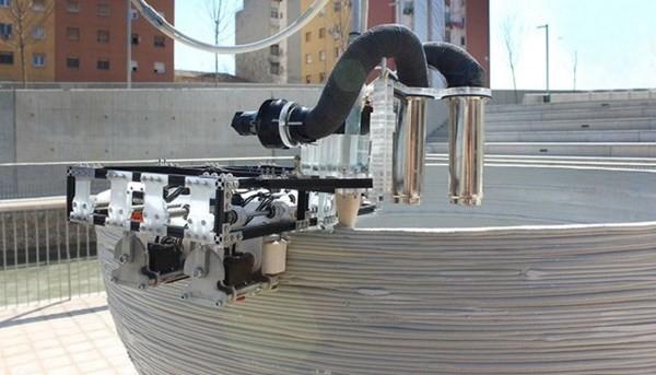 Robot 3D thay thế con người xây cao ốc cực khủng - anh 2
