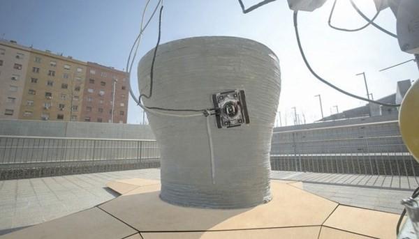 Robot 3D thay thế con người xây cao ốc cực khủng - anh 3