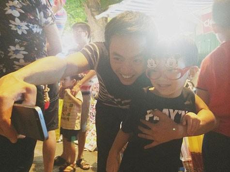Sao Việt hạnh phúc đón Trung thu bên những thiên thần nhí - anh 4