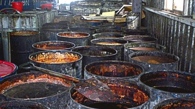 Sản phẩm từ dầu bẩn Đài Loan có tại Việt Nam - anh 1
