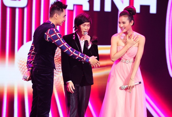 """""""The Winner is"""": Phương Trinh Jolie thắng thuyết phục Tùng Lâm - anh 4"""