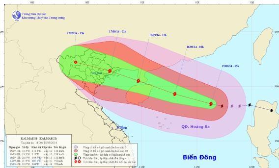 Cập nhật tin bão trên Biển Đông - anh 1