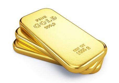 Giá vàng cuối tuần xuống đáy khi chứng khoán tăng kỷ lục - anh 1