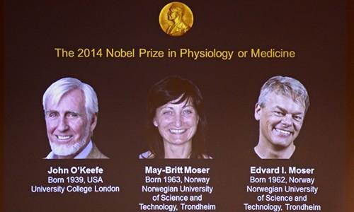 Nobel Y học 2014: Nghiên cứu đoạt giải đã từng bị nhạo báng - anh 1