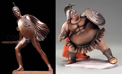"""Sự thật về """"body chuẩn"""" của các võ sĩ giác đấu cổ đại - anh 2"""