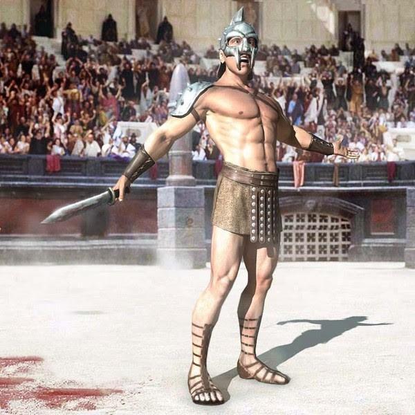 """Sự thật về """"body chuẩn"""" của các võ sĩ giác đấu cổ đại - anh 5"""