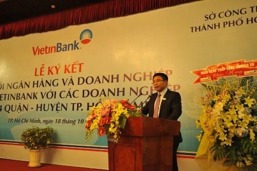 Kết nối Vietinbank và doanh nghiệp trên địa bàn TP.HCM - anh 3