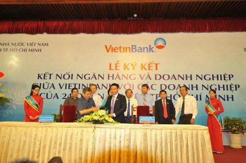 Kết nối Vietinbank và doanh nghiệp trên địa bàn TP.HCM - anh 2