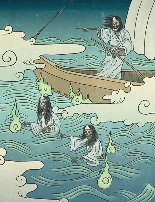 """Bí ẩn loài ma """"chết trôi"""" trong văn hóa Nhật - anh 2"""