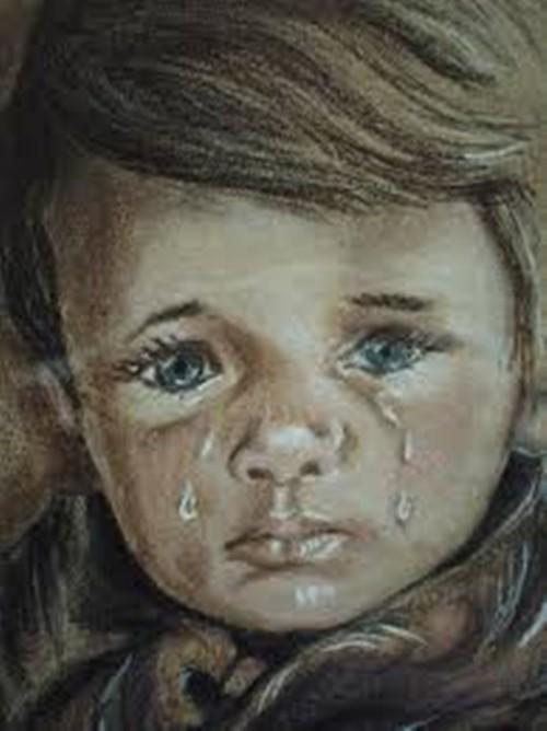 """Ám ảnh lời nguyền chết chóc của bức tranh """"Cậu bé khóc"""" - anh 5"""