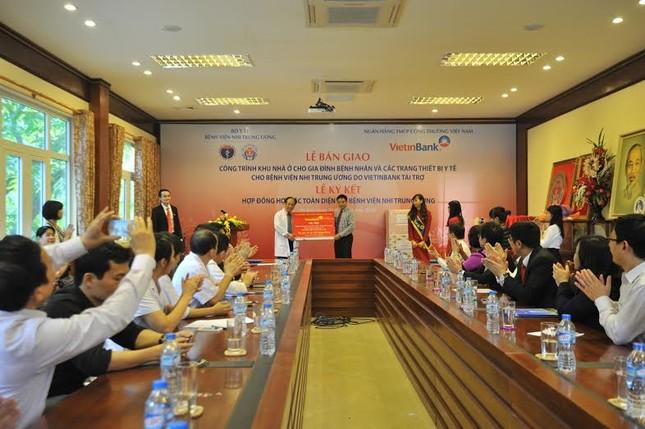 VietinBank trao tặng nhà ở và trang thiết bị y tế cho Bệnh viện Nhi Trung ương - anh 2
