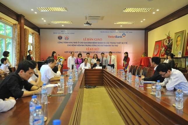 VietinBank trao tặng nhà ở và trang thiết bị y tế cho Bệnh viện Nhi Trung ương - anh 3