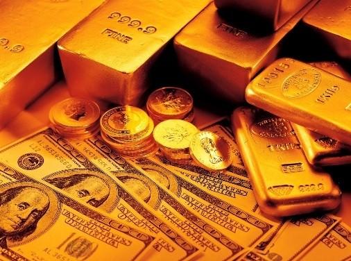 Dự đoán USD tiếp tục leo dốc làm giá vàng giảm mạnh - anh 1