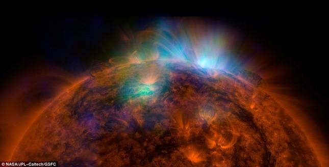 Hiện tượng bí ẩn tại cực nam Mặt Trời - anh 2