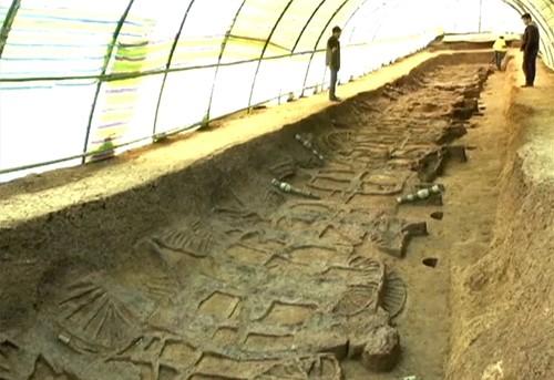 Những ngôi mộ cổ của các thương gia giàu có ở Trung Quốc - anh 1