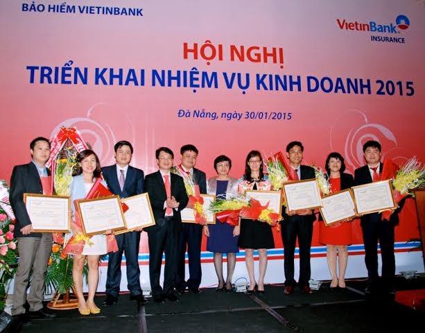 Bảo hiểm VietinBank tăng trưởng vượt bậc năm 2014 - anh 1