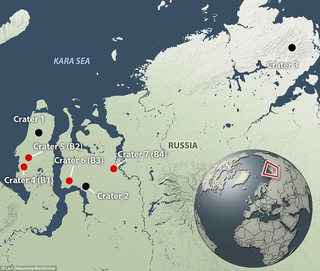 4 miệng hố bí ẩn mới được phát hiện ở Siberia - anh 3