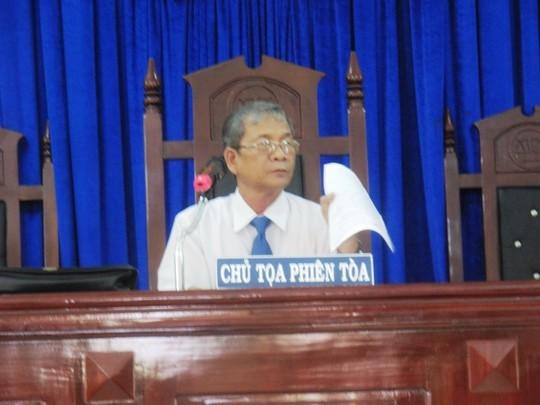 Nguyên Phó Công an TP Tuy Hòa thành khẩn nhận sai sót - anh 1