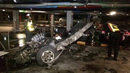 Xe bom phát nổ tại show diễn thời trang, 10 người thương vong - anh 1