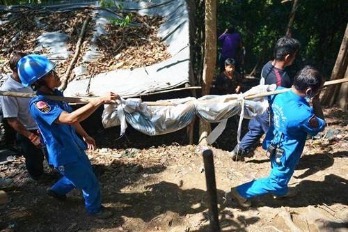 Phát hiện hàng chục thi thể ở trại buôn người ở Thái Lan - anh 1