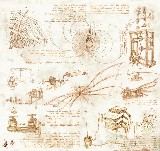 5 phát minh vĩ đại của thiên tài Leonardo Da Vinci khiến cả thế giới kính nể - anh 2