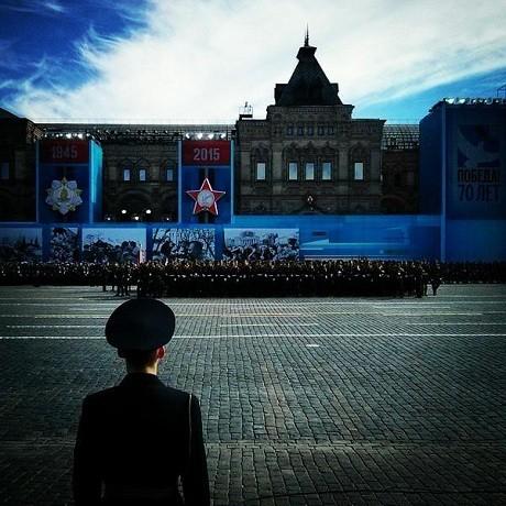 Toàn cảnh lễ duyệt binh hào hùng trên Quảng trường Đỏ kỷ niệm 70 năm chiến thắng phát xít Đức - anh 9
