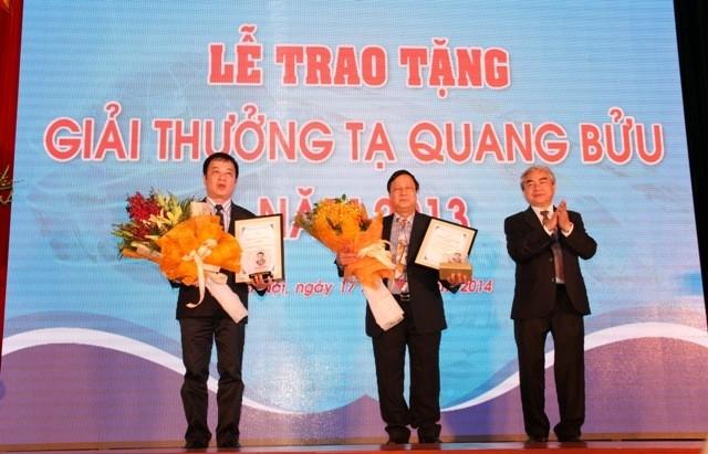 Danh sách các nhà khoa học được đề cử Giải thưởng Tạ Quang Bửu năm 2015 - anh 1