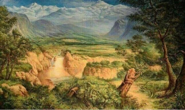 Bí ẩn bức tranh ẩn giấu 12 con vật xôn xao cư dân mạng - anh 1