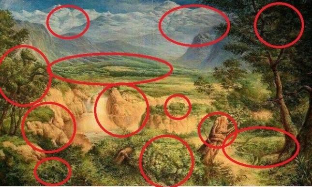 Bí ẩn bức tranh ẩn giấu 12 con vật xôn xao cư dân mạng - anh 2