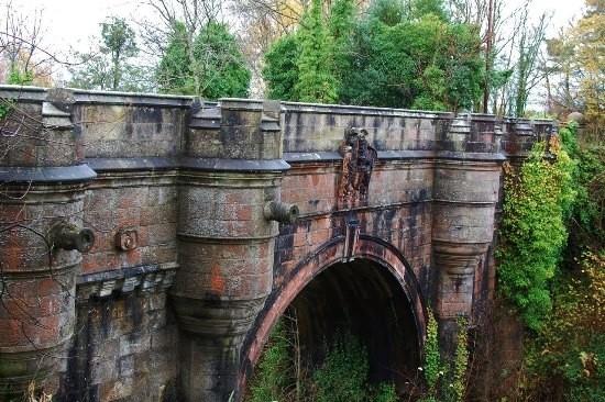 """Bí ẩn cây cầu cổ khiến người và chó đi ngang muốn """"tự tử"""" - anh 1"""
