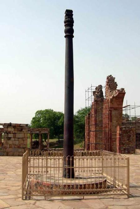 Bí mật của cột sắt nghìn năm không gỉ ở Ấn Độ - anh 2