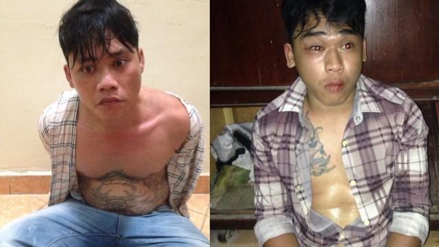 TP.HCM: Tóm gọn 2 thanh niên xăm trổ trộm xe Airblade - anh 1