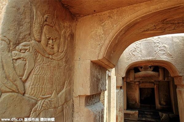 Phát hiện ngôi mộ quý tộc thời nhà Tống tinh xảo hiếm có - anh 2