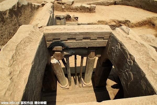 Phát hiện ngôi mộ quý tộc thời nhà Tống tinh xảo hiếm có - anh 5