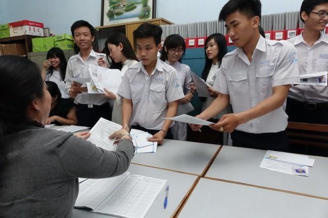 Một số trường ĐH công bố điểm trúng tuyển - anh 1