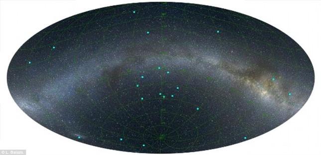 Phát hiện vòng tròn bí ẩn cách Trái Đất 5 tỷ năm ánh sáng - anh 2