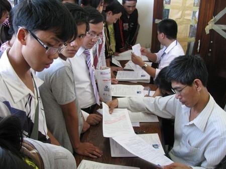 Quy định về thời gian rút hồ sơ đăng ký xét tuyển của các trường ĐH, CĐ - anh 1