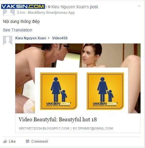 Virus khiêu dâm 'Vietnam Rose' tấn công hơn 5.000 người dùng Indonesia