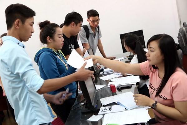 Hướng dẫn quy trình đổi nguyện vọng xét tuyển tại trường THPT và Sở GD-ĐT - anh 1