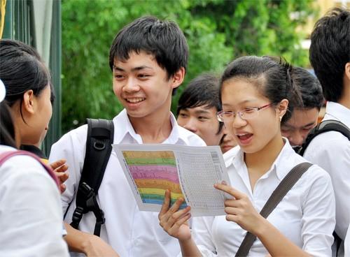 Điểm chuẩn dự kiến của một số trường đại học - anh 1