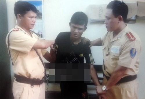 Hà Nội: Khống chế thành công tên cướp manh động nhiễm HIV giai đoạn cuối - anh 1