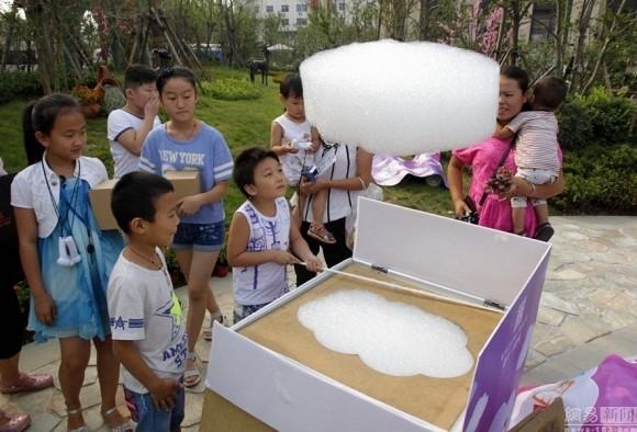 Phát minh máy làm mây nhân tạo gây sốt ở Trung Quốc - anh 1