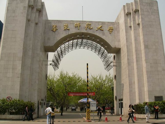 Trường Đại Học Hoa Đông - East Chine Normal University - anh 1