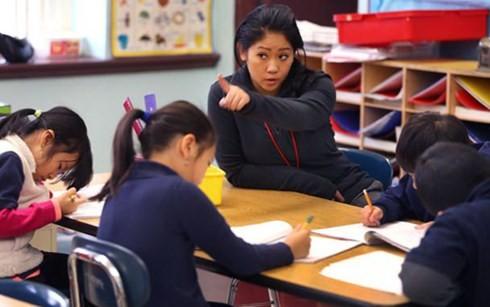 Mỹ: Thêm một trường tiểu học dạy toán bằng tiếng Việt - anh 2