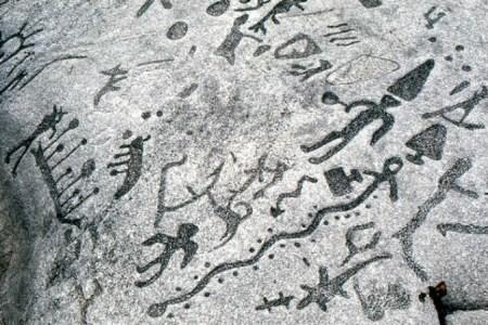Truy tìm nguồn gốc vách đá huyền bí 3.000 năm tuổi ở Canada - anh 1