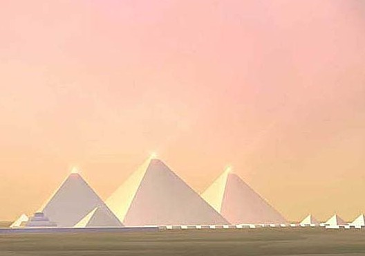 Phát hiện gây sốc về màu thực sự của kim tự tháp - anh 2