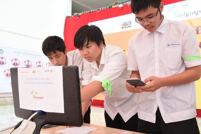 Điểm mới của Cuộc thi Giải toán trên internet – ViOlympic năm học 2015-2016 - anh 2