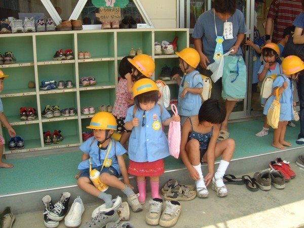 Trải nghiệm một ngày đi học tuyệt vời của trẻ ở trường mầm non Nhật Bản - anh 5